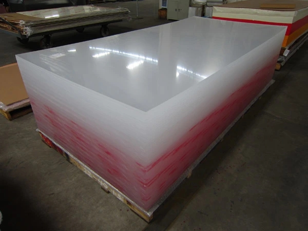 High Density Color Transparent PMMA Acrylic Sheet