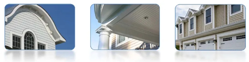 Home Decoration Customize Waterproof PVC Trims and Mouldings